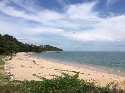 今日のサムイ島 11月10日 やっと晴れ