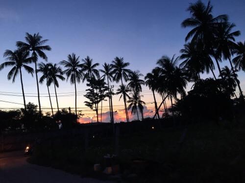 サムイ島ゴールデンウィーク終盤 お天気良好‼