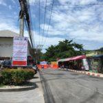 サムイ島 2019年6月12日 チャウエンビーチロードの電線地中化工事第1期がスタートしました!