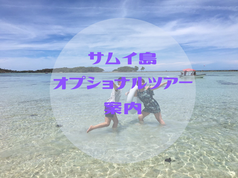 サムイ島オプショナルツアー案内